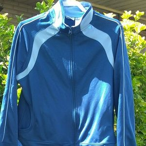 Athletic Work Out Sweat Jacket Size XXL